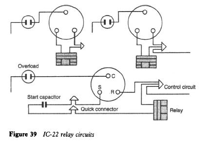 refrigerator compressor relay wiring diagram
