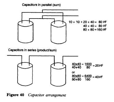 Capacitor arrangement