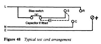 refrigerator-test-cord-arrangement