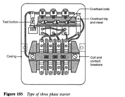 Direct Online Starter Wiring Diagram 3 Phase on square d motor contactor diagrams
